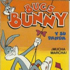 Tebeos: CÓMIC TEBEO BUGS BUNNY Y SU PANDA. MUCHA MARCHA. ENERO 1985. Lote 214053500