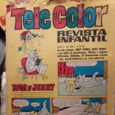 Tebeos: TELE COLOR-BRUGUERA Nº 231 -NUEVA ETAPA-NUEVAS SERIES-1967-NÚMERO DIFÍCIL-CORRECTO-LEAN-3461. Lote 214077723