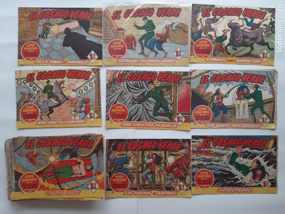 EL COSACO VERBE COLECCION DE 69 COMICS EDICIONES BRUGUERA ORIGINAL 1960 61 (Tebeos y Comics - Bruguera - Cosaco Verde)