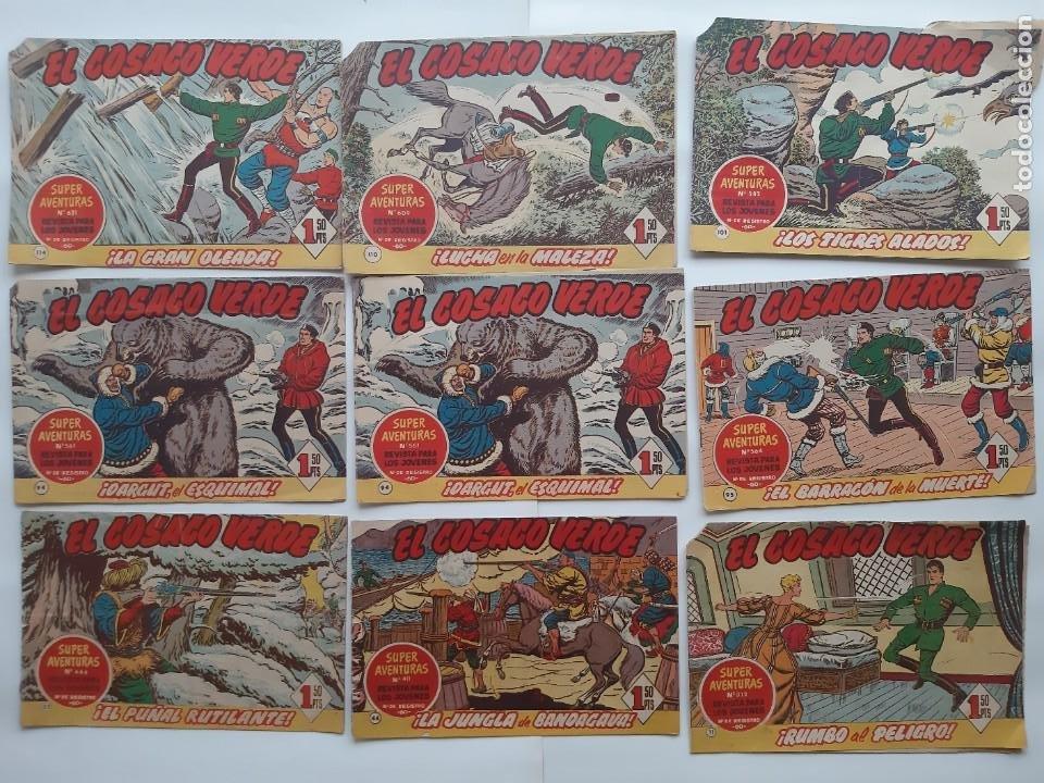 Tebeos: EL COSACO VERBE COLECCION DE 69 COMICS EDICIONES BRUGUERA ORIGINAL 1960 61 - Foto 2 - 214201003