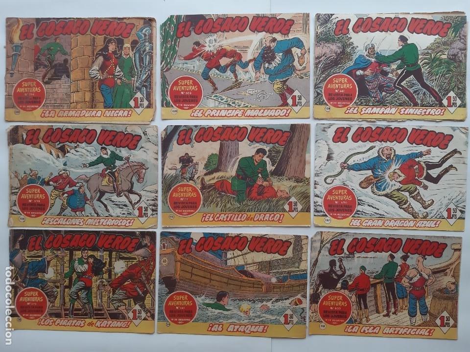 Tebeos: EL COSACO VERBE COLECCION DE 69 COMICS EDICIONES BRUGUERA ORIGINAL 1960 61 - Foto 4 - 214201003