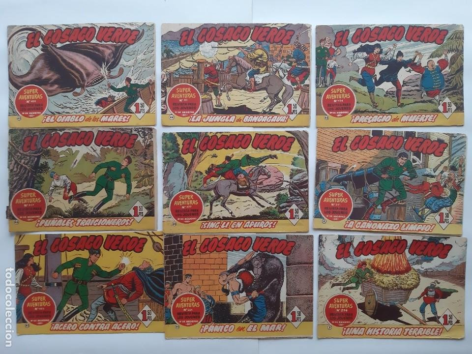 Tebeos: EL COSACO VERBE COLECCION DE 69 COMICS EDICIONES BRUGUERA ORIGINAL 1960 61 - Foto 6 - 214201003