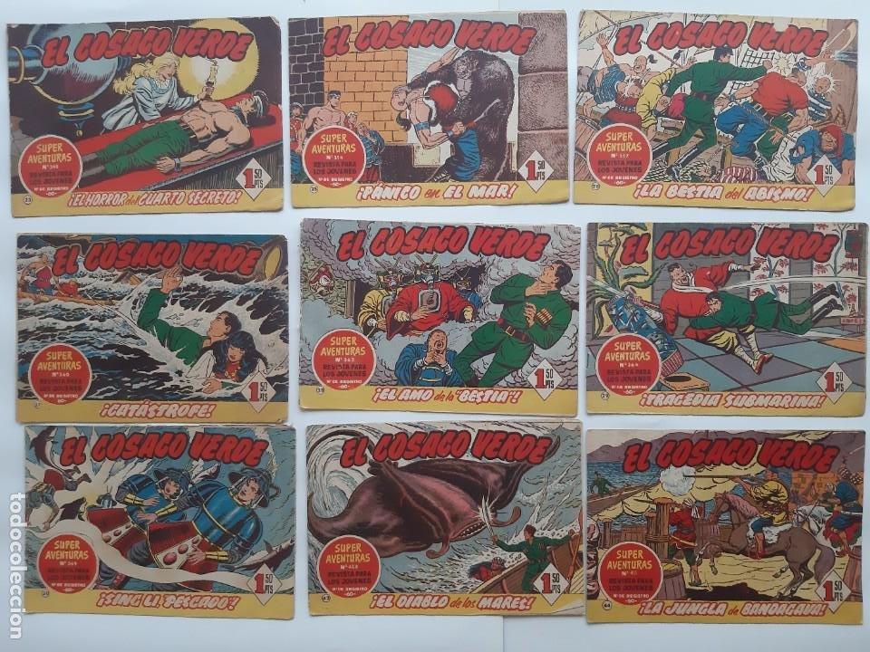 Tebeos: EL COSACO VERBE COLECCION DE 69 COMICS EDICIONES BRUGUERA ORIGINAL 1960 61 - Foto 7 - 214201003