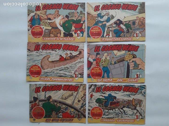 Tebeos: EL COSACO VERBE COLECCION DE 69 COMICS EDICIONES BRUGUERA ORIGINAL 1960 61 - Foto 8 - 214201003