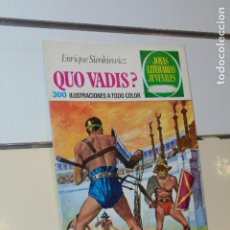 Tebeos: JOYAS LITERARIAS JUVENILES Nº 14 QUO VADIS? E. SIENKIEWICZ 1971 - BRUGUERA. Lote 214201957