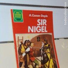 Tebeos: JOYAS LITERARIAS JUVENILES Nº 265 SIR NIGEL A. CONAN DOYLE 1983 - BRUGUERA. Lote 214202562