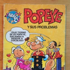 Tebeos: POPEYE Y SUS PROBLEMAS. Lote 214212526