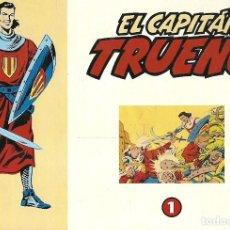 Tebeos: EL CAPITAN TRUENO Nº 1 AL 32 CON TAPAS SIN ENCUADERNAR FACSIMIL. Lote 214224090