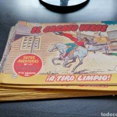 Tebeos: LOTE 32 CÓMICS COSACO VERDE BRUGUERA 1962. MUY ESCASO ENVIO GRATIS. Lote 214239530