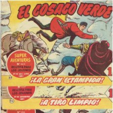 Tebeos: * EL COSACO VERDE * ED. BRUGUERA * ORIGINALES 1960-1963 * LOTE 7 Nº *. Lote 214284270