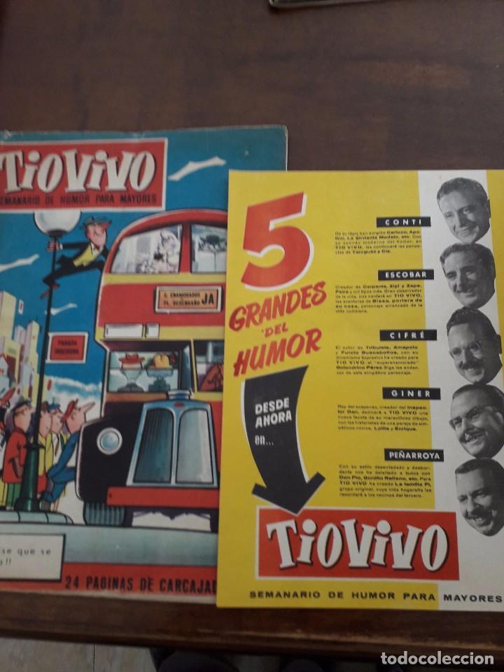 TIO VIVO DE CRISOL DEL Nº 1 AL 38 Y DOS EXTRAS (Tebeos y Comics - Bruguera - Tio Vivo)