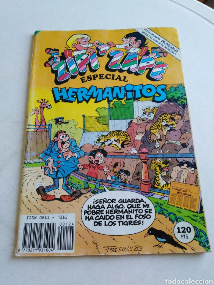 Tebeos: Lote de 9 cómic zipi y zape ( especiales y normales ) - Foto 10 - 214428531