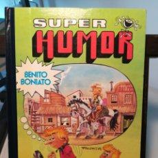 Tebeos: SUPER HUMOR BENITO BONIATO Nº 1/ LUIS Y CARLOS FRESNO/ BRUGUERA, 1984. Lote 214435315