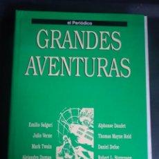 Tebeos: GRANDES AVENTURAS TOMO 3 COMPLETO, 20 FASCÍCULOS SEPARADOS , SIN ENCUADERNAR, EL PERIÓDICO. Lote 214459362