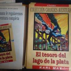 Tebeos: GRANDES AVENTURAS TOMO 4 COMPLETO, 25 FASCÍCULOS SEPARADOS , SIN ENCUADERNAR, EL PERIÓDICO. Lote 214459636