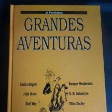 Tebeos: GRANDES AVENTURAS TOMO 4 COMPLETO, 25 FASCÍCULOS ENCUADERNADOS, EL PERIÓDICO. Lote 214459873