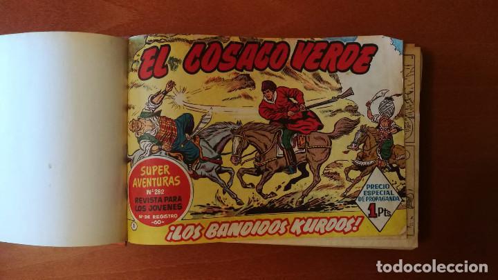 EL COSACO VERDE EDITORIAL BRUGUERA COMPLETA 144 Nº EN TRES TOMOS (Tebeos y Comics - Bruguera - Cosaco Verde)