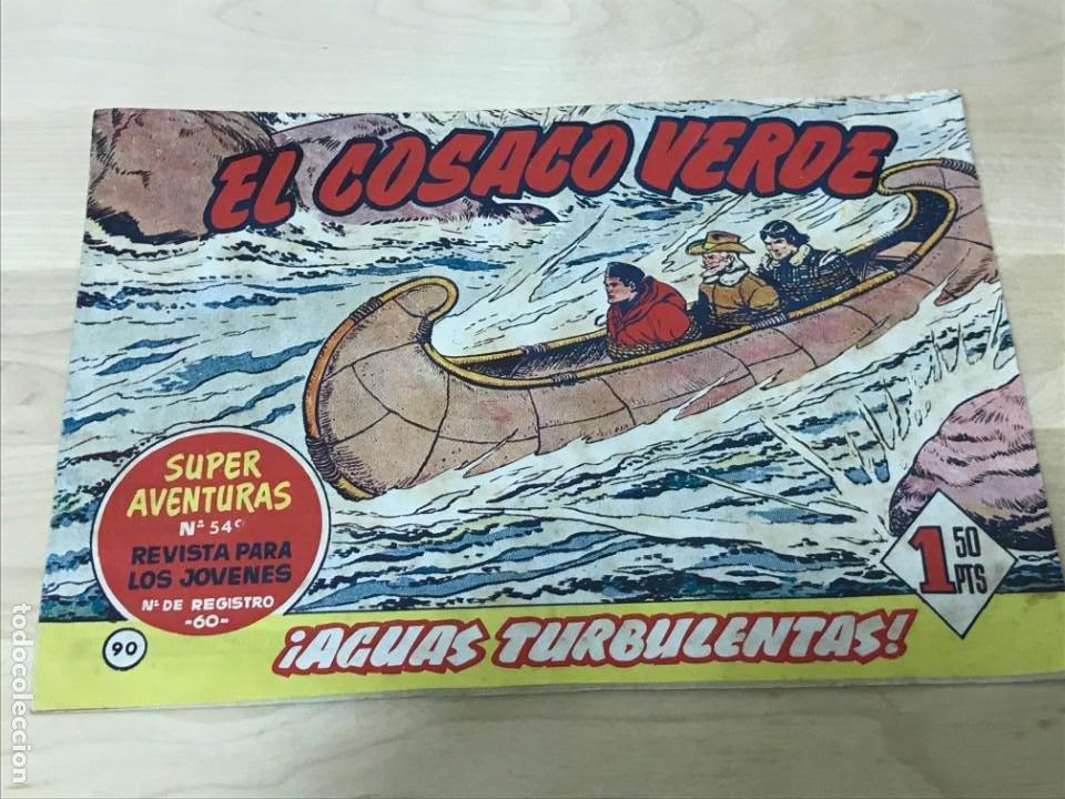 EL COSACO VERDE Nº90 EDICIÓN 1962 EDITORIAL BRUGUERA (Tebeos y Comics - Bruguera - Cosaco Verde)