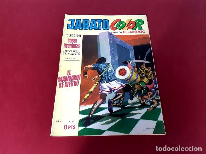 JABATO COLOR Nº 42 -AÑO I I -EXCELENTE ESTADO (Tebeos y Comics - Bruguera - Jabato)