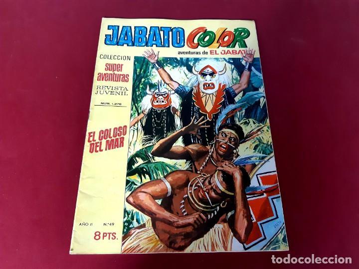 JABATO COLOR Nº 49 -AÑO I I -EXCELENTE ESTADO (Tebeos y Comics - Bruguera - Jabato)