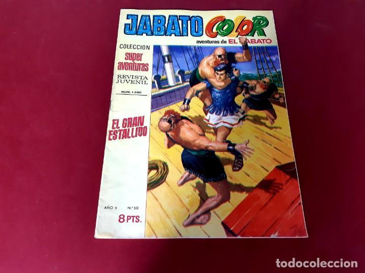 JABATO COLOR Nº 50 -AÑO I I -EXCELENTE ESTADO (Tebeos y Comics - Bruguera - Jabato)