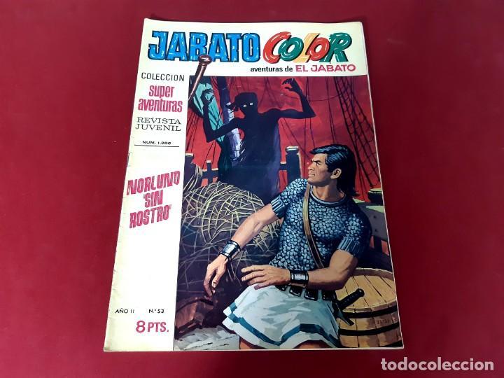 JABATO COLOR Nº 53 -AÑO I I -EXCELENTE ESTADO (Tebeos y Comics - Bruguera - Jabato)