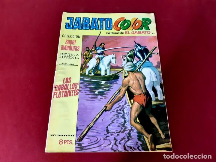 JABATO COLOR Nº 103 -AÑO I I I -EXCELENTE ESTADO (Tebeos y Comics - Bruguera - Jabato)