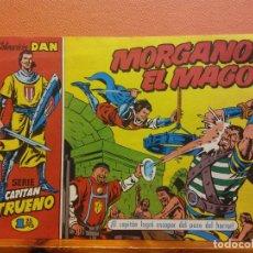 BDs: MORGANO EL MAGO. Nº12. SERIE CAPITAN TRUENO. COLECCIÓN DAN. EDITORIAL BRUGUERA. Lote 214811442