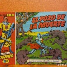 BDs: EL POZO DE LA MUERTE. Nº11. SERIE CAPITAN TRUENO. COLECCIÓN DAN. EDITORIAL BRUGUERA. Lote 214811828