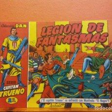 BDs: LEGIÓN DE FANTASMAS. Nº10. SERIE CAPITAN TRUENO. COLECCIÓN DAN. EDITORIAL BRUGUERA. Lote 214812300