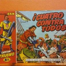 BDs: CUATRO CONTRA TODOS. Nº9. SERIE CAPITAN TRUENO. COLECCIÓN DAN. EDITORIAL BRUGUERA. Lote 214812478