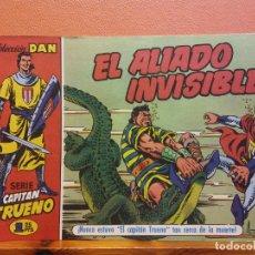 BDs: EL ALIADO INVISIBLE. Nº8. SERIE CAPITAN TRUENO. COLECCIÓN DAN. EDITORIAL BRUGUERA. Lote 214813110