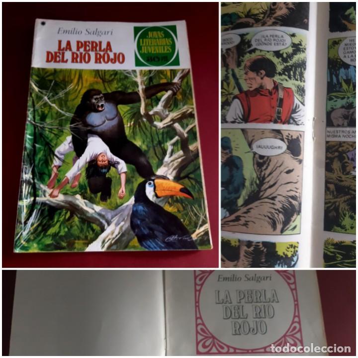 JOYAS LITERARIAS Nº 191 -LA PERLA DEL RIO ROJO- EXCELENTE ESTADO (Tebeos y Comics - Bruguera - Joyas Literarias)