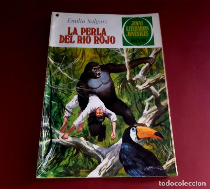 Tebeos: JOYAS LITERARIAS Nº 191 -LA PERLA DEL RIO ROJO- EXCELENTE ESTADO - Foto 2 - 214834112