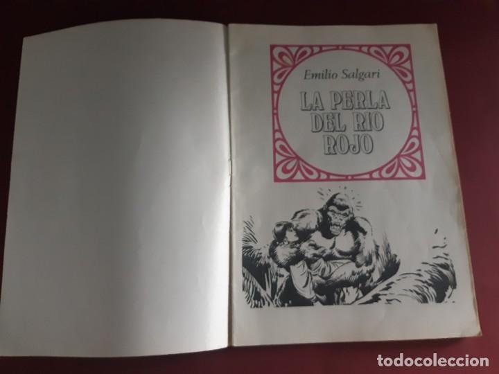Tebeos: JOYAS LITERARIAS Nº 191 -LA PERLA DEL RIO ROJO- EXCELENTE ESTADO - Foto 3 - 214834112