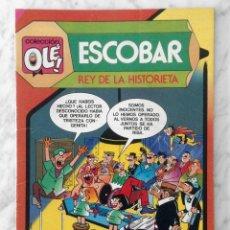 Tebeos: COLECCIÓN OLÉ! - ESCOBAR, REY DE LA HISTORIETA - ED. BRUGUERA - Nº 299 - 1ª EDICIÓN - 1985. Lote 279507718