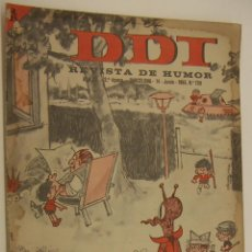 Tebeos: REVISTA DE HUMOR DDT Nº 728 AÑO 1965. Lote 215062068