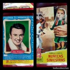 Tebeos: SS SERVICIO SECRETO 552 MUÑECAS SINIESTRAS -DONALD CURTIS BRUGUERA 1961-1ª EDICION. Lote 215148860