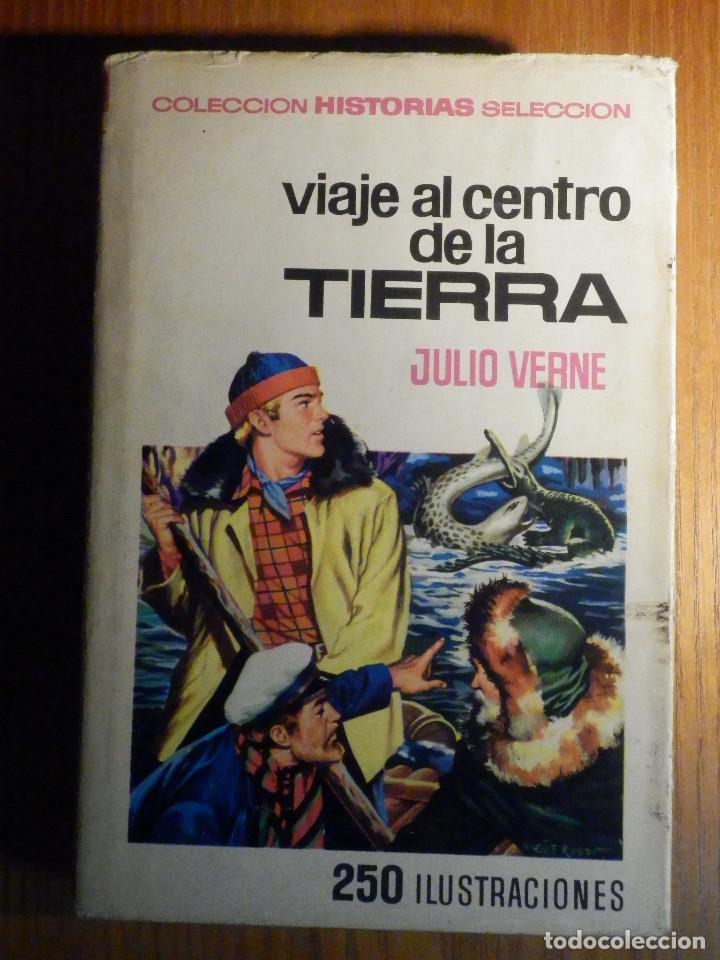 VIAJE AL CENTRO DE LA TIERRA - JULIO VERNE - HISTORIAS SELECCIÓN 250 ILUSTRACIONES - 1967 (Tebeos y Comics - Bruguera - Historias Selección)