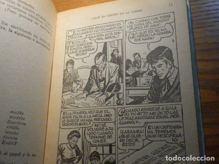 Tebeos: Viaje al centro de la Tierra - Julio Verne - Historias Selección 250 ilustraciones - 1967 - Foto 7 - 215158473