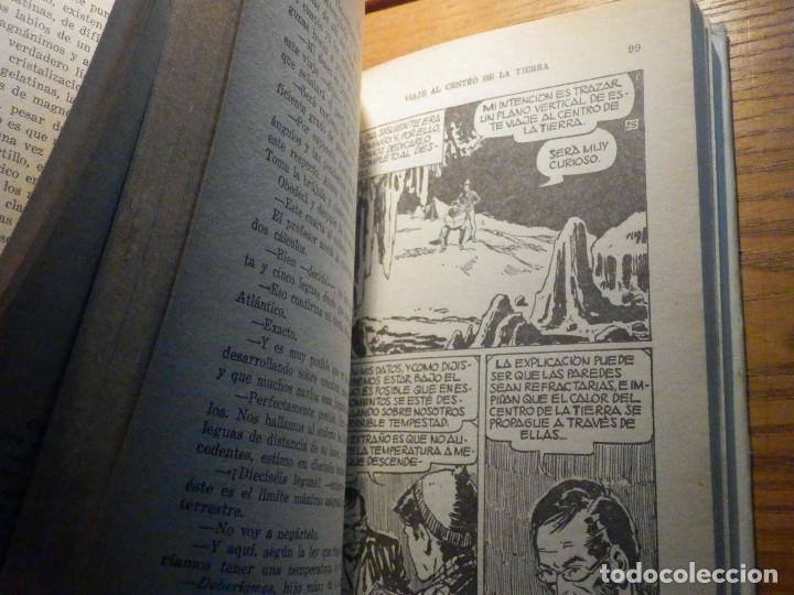 Tebeos: Viaje al centro de la Tierra - Julio Verne - Historias Selección 250 ilustraciones - 1967 - Foto 8 - 215158473