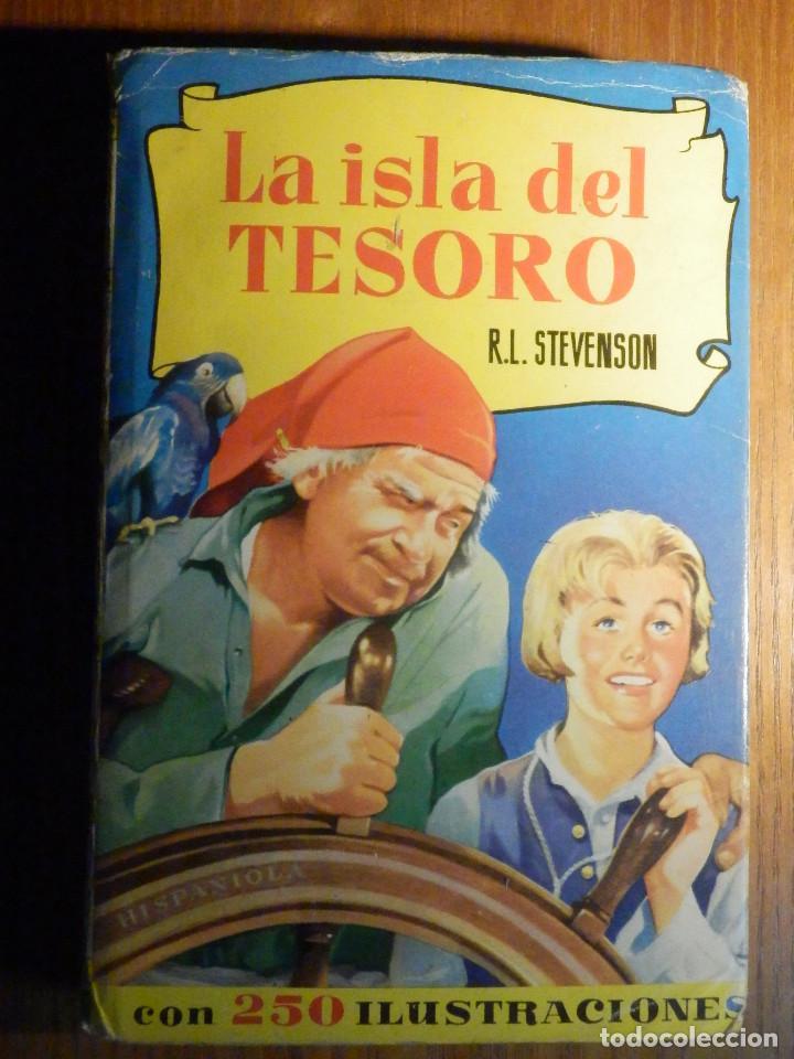 LA ISLA DEL TESORO - R.L. STEVENSON - HISTORIAS SELECCIÓN 250 ILUSTRACIONES - 1966 (Tebeos y Comics - Bruguera - Historias Selección)