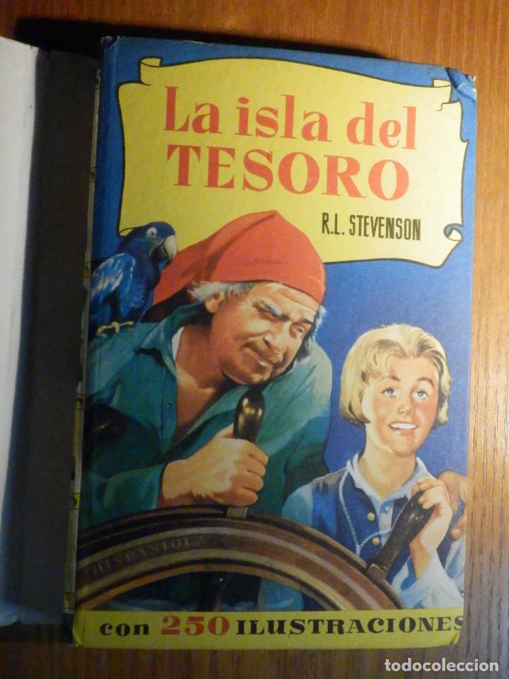 Tebeos: La Isla del tesoro - R.L. Stevenson - Historias Selección 250 ilustraciones - 1966 - Foto 2 - 215158901