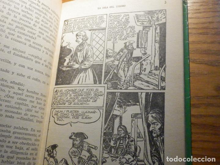 Tebeos: La Isla del tesoro - R.L. Stevenson - Historias Selección 250 ilustraciones - 1966 - Foto 5 - 215158901