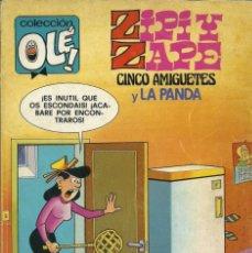 Tebeos: COLECCIÓN OLÉ. ZIPI Y ZAPE. CINCO AMIGUETES Y LA PANDA. NÚMERO Nº 180. AÑO 1982. Lote 215205727