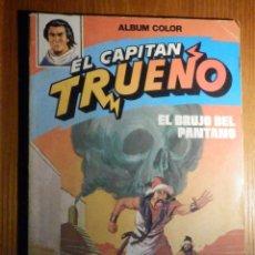 Tebeos: ALBUM COLOR - EL CAPITÁN TRUENO - EL BRUJO DEL PANTANO - Nº 4 -. Lote 215257208