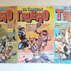 """Tebeos: LOTE COMICS """"EL CAPITAN TRUENO"""" TRES NUMEROS.. Lote 215333538"""