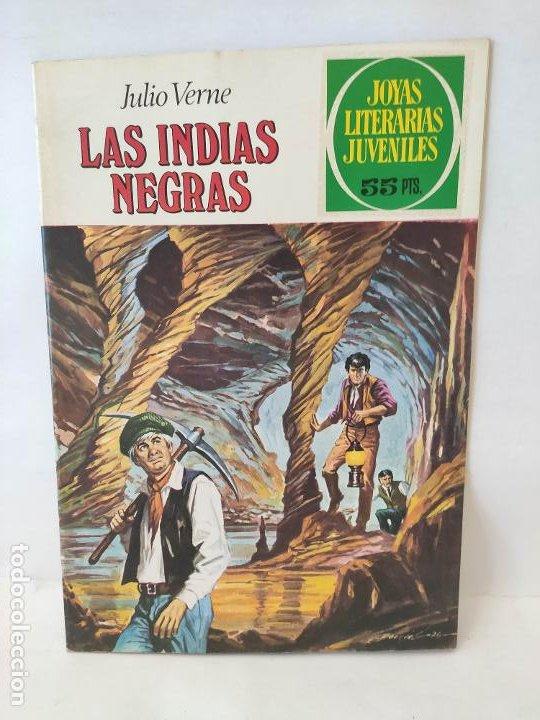 JOYAS LITERARIAS -LAS INDIAS NEGRAS- Nº 131 -EL DE LAS FOTOS (Tebeos y Comics - Bruguera - Joyas Literarias)