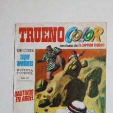 Livros de Banda Desenhada: TRUENO COLOR. Nº 25. AÑO I. CAUTIVOS EN ARGEL. COLECCION SUPER AVENTURAS CAPITAN TRUENO 1177 TDKC72. Lote 215604496