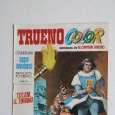 Livros de Banda Desenhada: TRUENO COLOR. Nº 19. AÑO I. CAUTIVOS EN ARGEL. COLECCION SUPER AVENTURAS CAPITAN TRUENO 1171 TDKC72. Lote 215605122